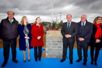 La ministra de Fomento inaugura el parque empresarial El Prado Ampliación en Mérida