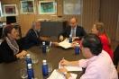 Soler se reúne con el alcalde de Talavera de la Reina