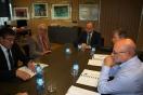 Reunión de Alejando Soler con el presidente de la Asociación de Empresarios del polígono de San Cristóbal