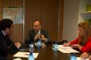 Soler se reúne con el alcalde de Llanera