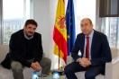 Soler se reúne con el alcalde de Marchamalo
