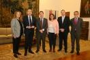 El director general, Alejandro Soler, ha visitado Toledo donde se ha reunido con el presidente de Castilla-La Mancha, Emiliano García-Page