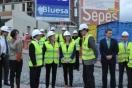 La ministra de Fomento visita las obras de edificación de 317 viviendas protegidas en Ceuta