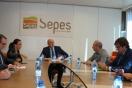 Soler se reúne con la alcaldesa de Cartagena