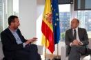 Soler se reúne con el alcalde de Elche