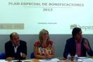 La directora general de Sepes presenta el Plan Especial de Bonificaciones para el parque empresarial Los Camachos, en Cartagena