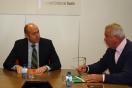 Alejandro Soler se reúne con el alcalde de Moratalla