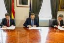 Ábalos firma con el presidente Emiliano García-Page un protocolo de SEPES para impulsar la promoción de suelo industrial en Castilla-La Mancha