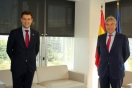 Fernández recibe al alcalde de Fuensalida
