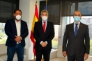 Lucrecio Fernández se interesa por la situación del suelo industrial en A Coruña