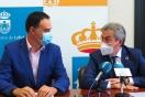 Fernández reafirma el compromiso con el Ayuntamiento de Lebrija para el estudio de un futuro desarrollo de suelo industrial