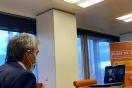 Fernández informa a Olivera del estado del parque empresarial Tordesillas Industrial