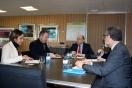 El director general de Sepes y el alcalde de Guarromán se reunen en Sepes