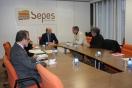 Alejandro Soler se reúne con el alcalde de Binéfar