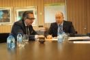 Alejandro Soler se reúne con el alcalde de Calahorra