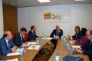 Soler se reune con el consejero de Fomento de la Región de Murcia