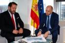Soler se reúne con el alcalde de Ponteceso
