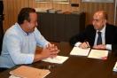 Alejandro Soler, director general de Sepes, se ha reunido con Vicent Sarrià, concejal de Desarrollo Urbano del Ayuntamiento de Valencia