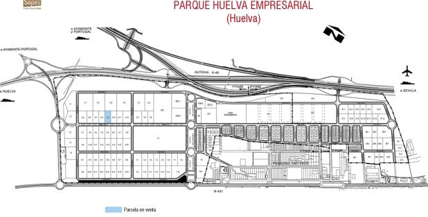 Parcelario P2.9 Parque Huelva Emp 1F