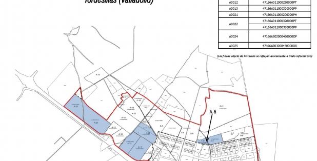 Plano Tordesillas