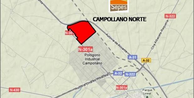 Situación 01 Campollano Norte parcelas