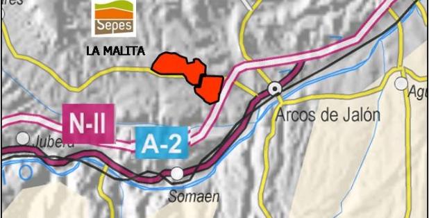 Situación La Malita