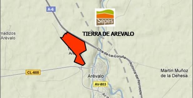 Situación Tierra de Arévalo
