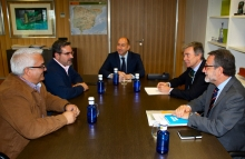 Soler se reúne con el alcalde de Pedro Muñoz