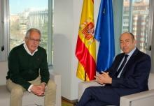 Soler se reúne con el alcalde Castuera