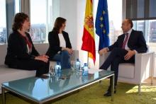 Soler se reúne con la alcaldesa de Xixona